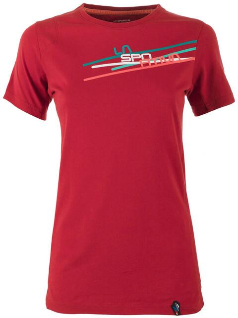 La Sportiva Stripe 2.0 T-Shirt Women berry